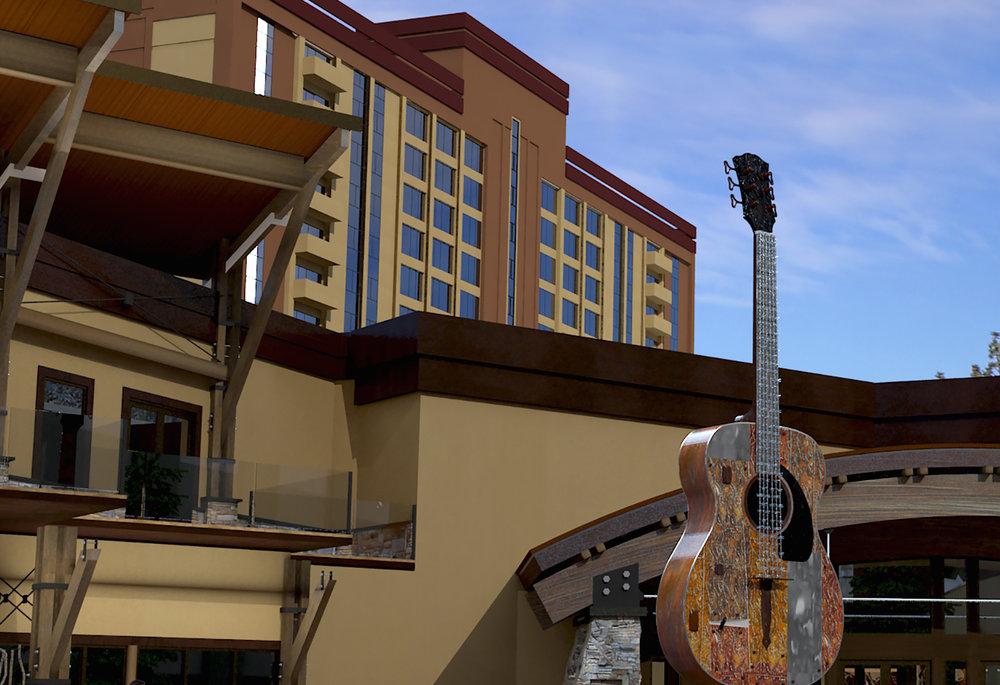 The Hard Rock Hotel and Casino opened in South Lake Tahoe in late January 2015. - ©Hard Rock Hotel Casino Lake Tahoe