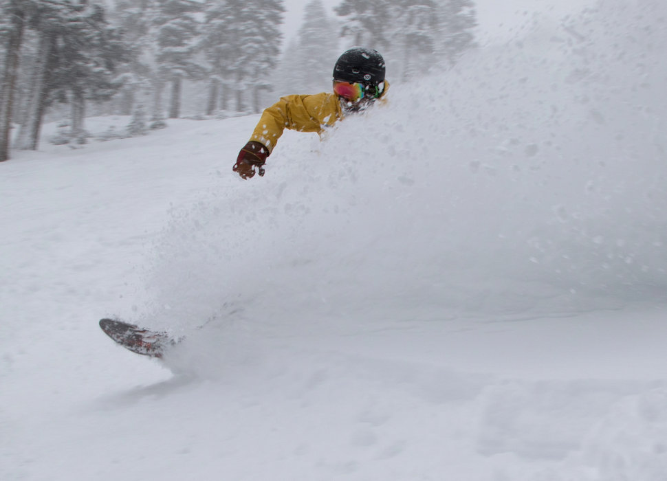 Feb. 28, 2015 powder at Northstar California.