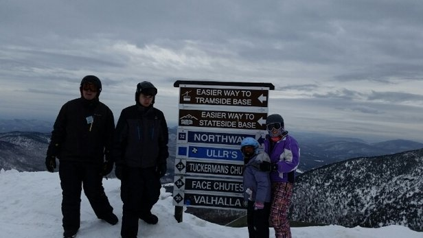 Jay Peak - good condition, but warm day,  a little crowded but not bad. always a great day at Jay - ©dchappy19
