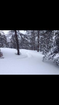 Montgenèvre - Fresh powder Tuesday ! - ©nigel's i phone