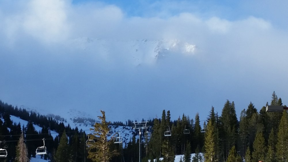 Even socked in, Mammoth is magical. - ©Heather B. Fried