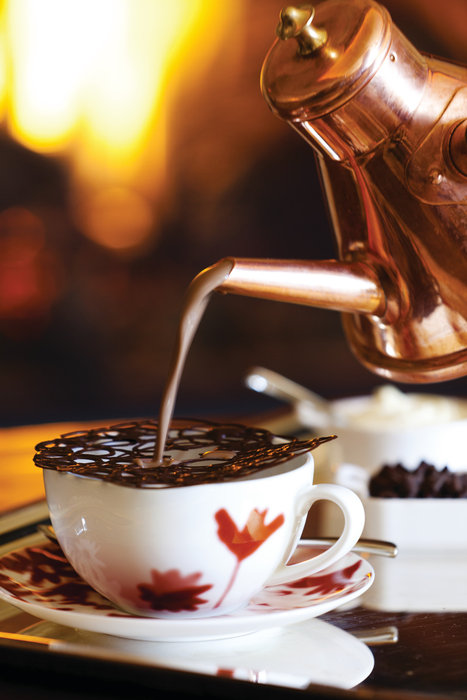 Flame Restaurant's signature Haut Chocolat. - ©Four Seasons Resort & Residences Vail