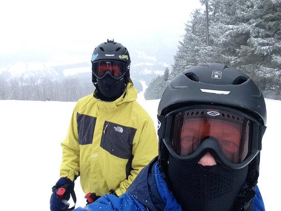 Elk Mountain Ski Resort - Firsthand Ski Report - ©Glen's iPhone