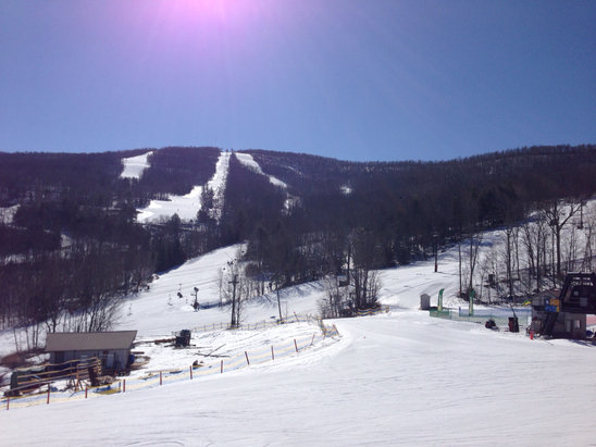 Windham Mountain - Gorgeous day  - ©Skylar's iPhone