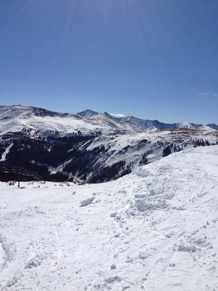 Loveland - Great spring riding on Saturday.  Beautiful views from chair 8.