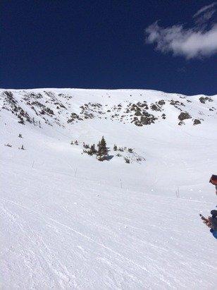 Breckenridge - Great snow on peak 6 but base is very slushy