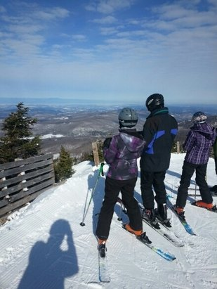 Sugarbush - Good bye beautiful March Skiing, can we extend this another month?