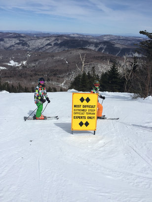 Killington Resort - Good day at the beast, fast groomers in the am and soft spring conditions in the afternoon.  Still a ton of snow!