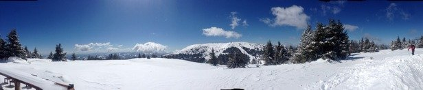 Kopaonik - Today, maybe is the best day in season:))  - ©niggor's iPhone