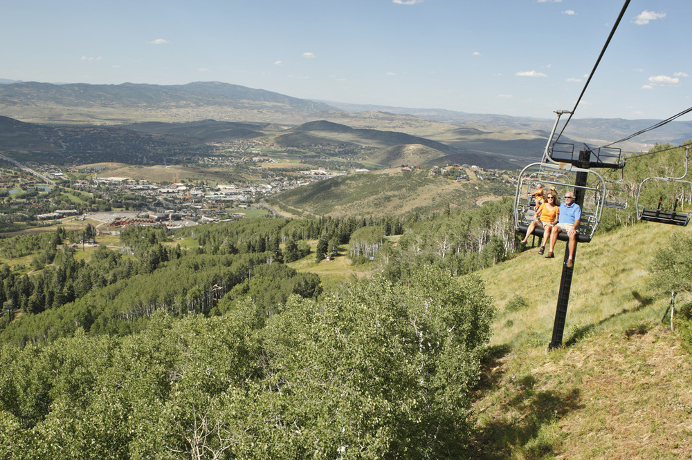 Park City Mountain Resort in summer - ©Shootdancampbellphotography.com