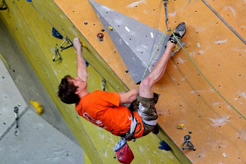 Matze Conrad auch mit Seil stark: Rang drei für den Boulderspezialist - ©bergleben.de