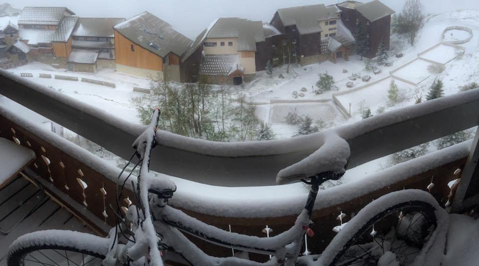 Alpe d´Huez 21.5.2015 - ©Facebook Alpe d´Huez