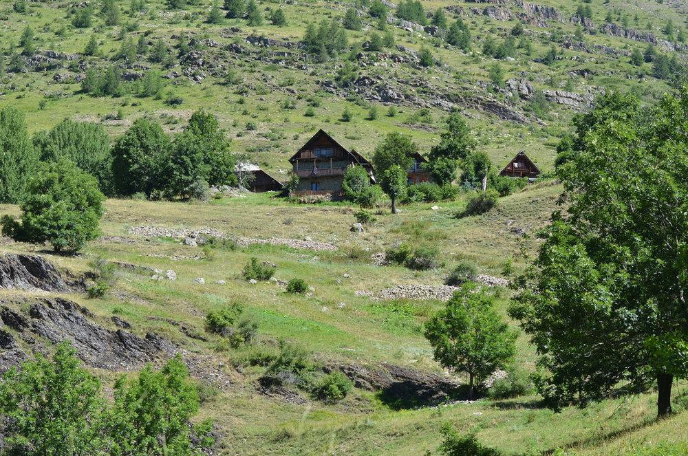 Vue du hameau de Dormillouse - ©Bertrand99 - Wikipedia Commons