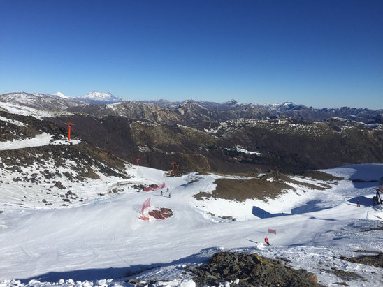 Nevados de Chillan - Firsthand Ski Report - ©iPhone de Fred Volpi