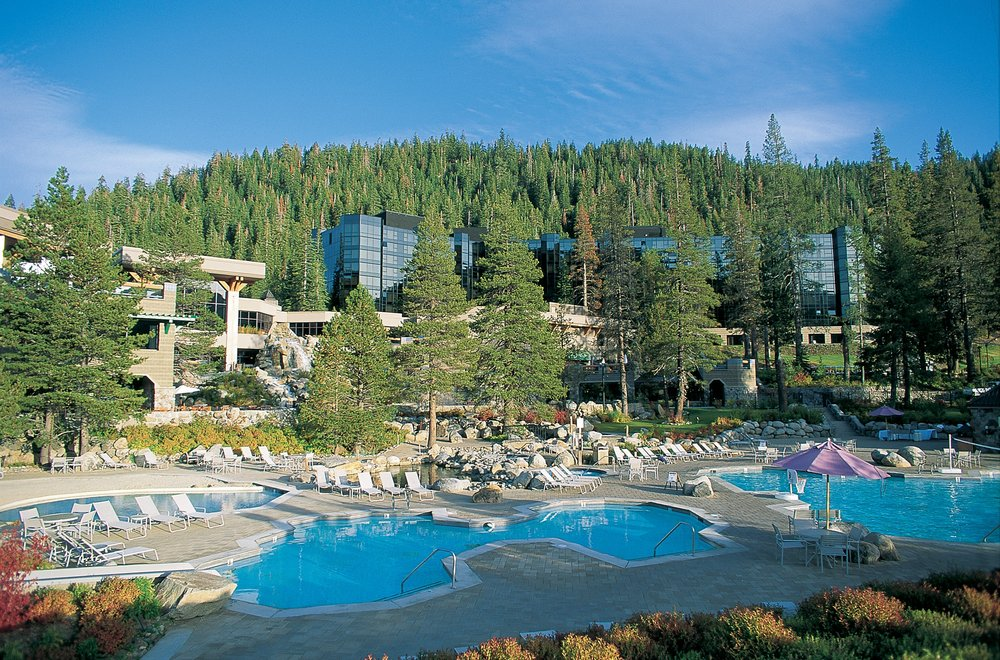 The Resort at Squaw Creek pool area.