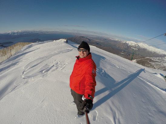 Cerro Catedral Alta Patagonia - No topo hj!!! Pistas vermelhas e azuis abertas!!!   - ©Rodrigo Brito