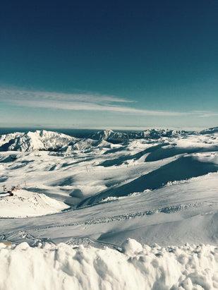 Nevados de Chillan -   Excelente   - ©iPhone de Godofredo Quev