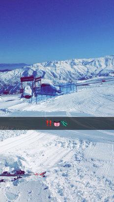 El Colorado - Ayer con la mejor nieve - ©Crazy Watermelon????