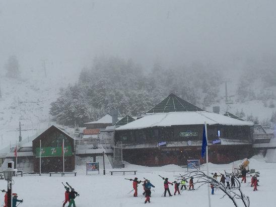 Cerro Catedral Alta Patagonia - Nice heavy snowfall!