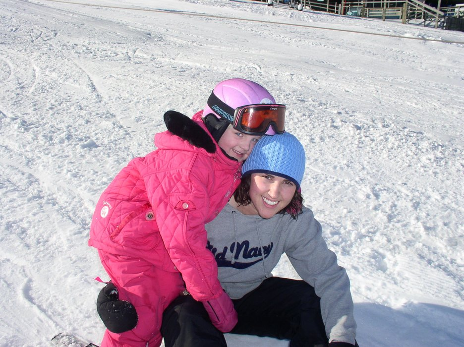 Elle and Kate at Wild Mountain, MN