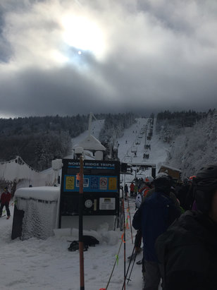 Killington Resort - For the two trails that were open there was really good coverage.  - ©anonymous user