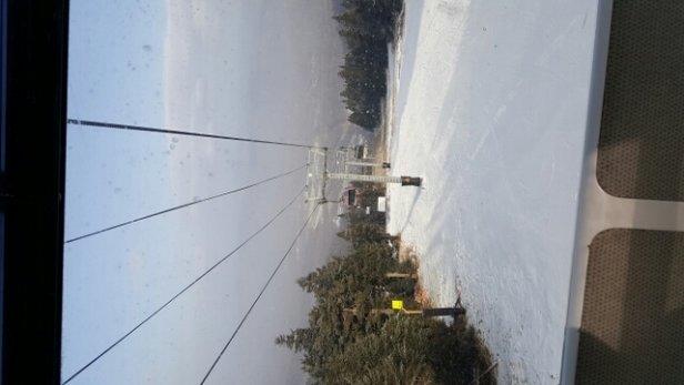 Killington Resort - snow  is good. limited trails  walk up to gondola to get down.  - ©bobkoziel75