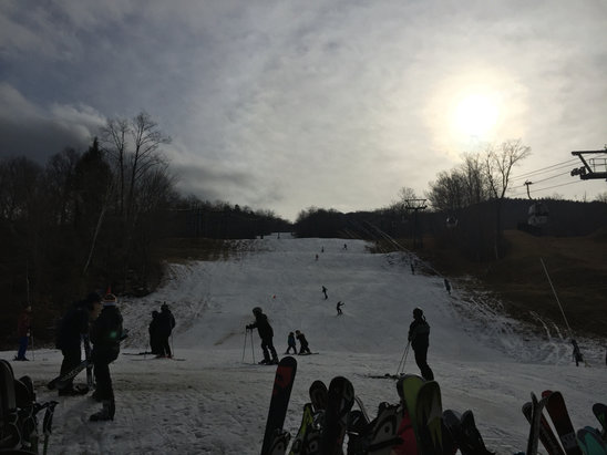 Loon Mountain - First day of the season was surprisingly awesome; probably coming back tomorrow for another dozen runs or so! - ©Chivilo