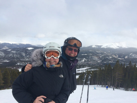 Breckenridge - Skiing at Breckenridge on Thanksgiving day. - ©Dennis Kimmel's iPhone