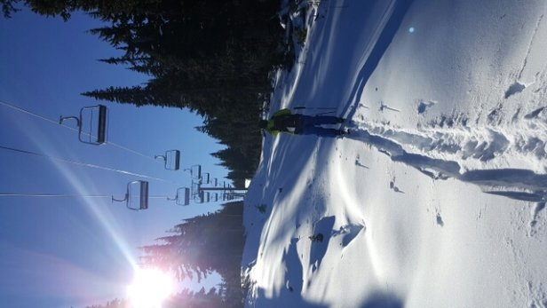 White Pass - Snow is so light skinned up awesome.   Love White Pass you don't need to go anywhere else.     - ©durandlori