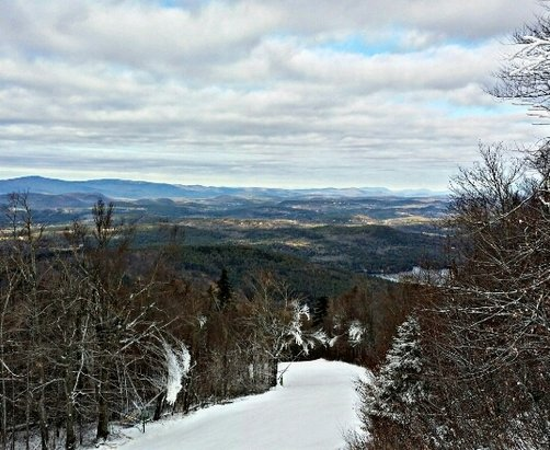 Mount Sunapee - nice day today...still only blast off open but snow making continues...pray for snow! - ©prayn4snow