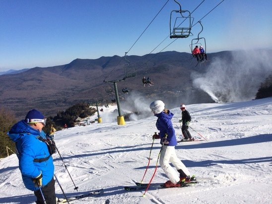 Waterville Valley - Great first day!!  - ©cklossw's iPhone