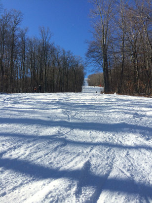 Belleayre - Was up groomer Dan , belleayre was great !! No crowds good snow, n great people , come on down !! - ©iPhone