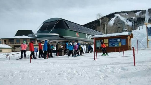 Powderhorn - New high speed chair lift...Awesome!  - ©sandym2839