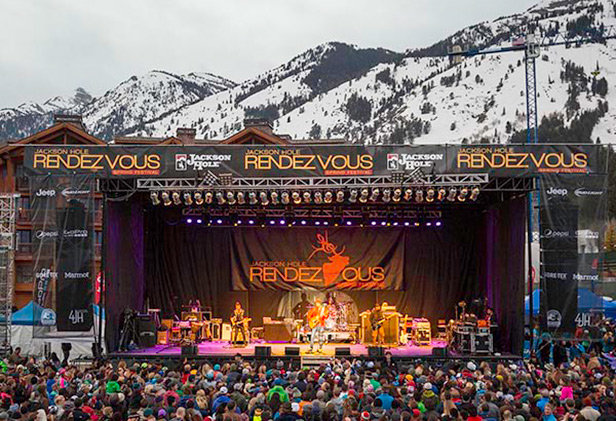 Music under the Tetons at Rendezvous Festival - ©4 day lifestyle and music festival