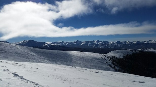 Keystone - Still untouched pow on the North Bowl and and on open trees,  packed powder all over the trails.  - ©zool774