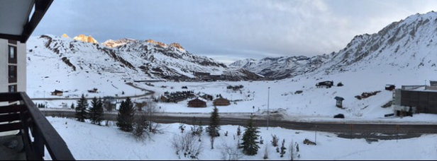 Tignes - Pretty icy but generally not too bad! Could do with some more snow though haha.  - ©iPhone