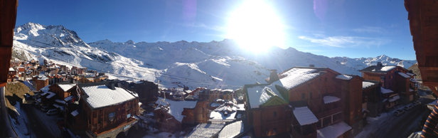 Val Thorens - Sunny blue skies in Val Thorens - ©iPhone