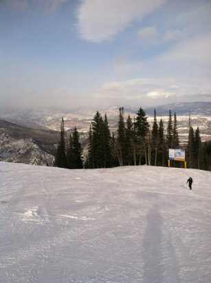 Sunlight Mountain Resort - A little windy but great day skiing! - ©Vicky's iPhone