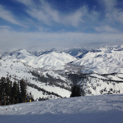 Sun Valley - Firsthand Ski Report - ©Mehammed's iPhone