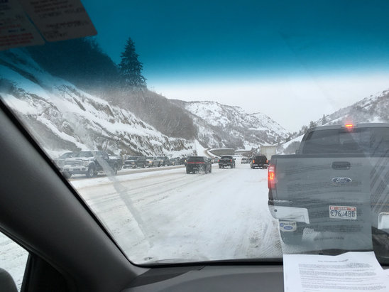 Sundance - SR 92 to Sundance from Provo Canyon is closed until 10 AM - ©JH3