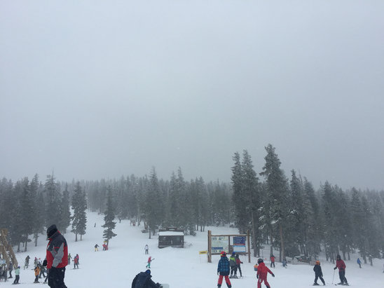 Angel Fire Resort - Having a blast and staying warm! #snowing #snowboarding  - ©Mary's iPhone