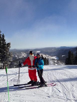 Eldora Mountain Resort - Merry Christmas to all! - ©Pat's iPhone