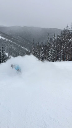 Keystone - amazing christmas!!! if you search around and are fine with trees knee deep untouched powder in spots!  - ©Matthew's iPhone