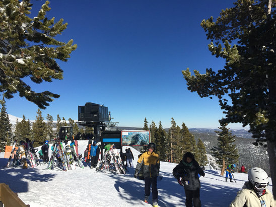 Eldora Mountain Resort - Beautiful day of skiing. Great conditions, no lines, and great weather! - ©jason's iPhone
