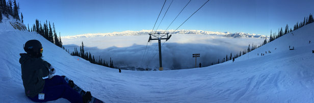 Kicking Horse - Not a bad day yesterday - ©Merlezee