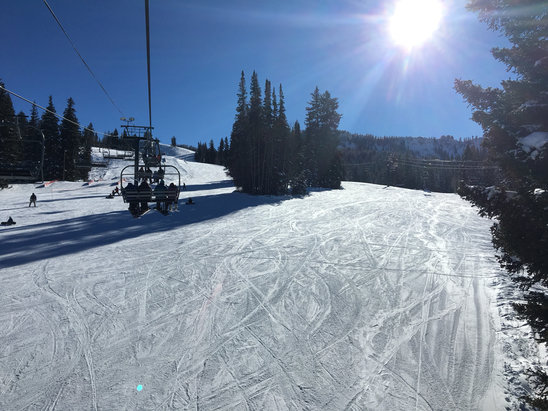 Brighton Resort - Cold but beautiful! - ©iPhone 64