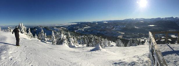 Mt Washington Alpine Resort - Firsthand Ski Report - ©Katrien Kitshoff's iPhon