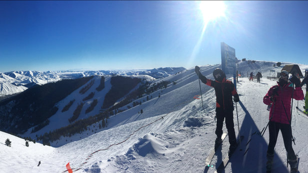 Sun Valley - Had a blast here great snow!!!!! - ©iPhone