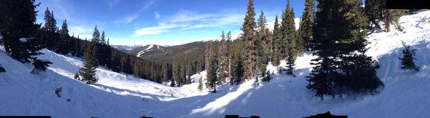 Keystone - Bowl skiing   - ©iPhone