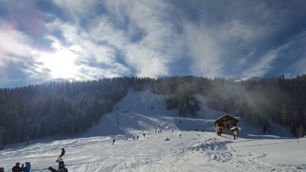 Serre Chevalier - Lovely fresh snow - ©Lez's iPhone